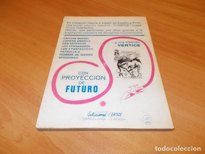 Cómics: CORONEL FURIA V.1 Nº 10 !! MUY BUEN ESTADO !! - Foto 2 - 172108372