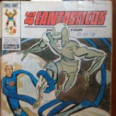 Cómics: LOS 4 FANTASTICOS Nº 61 - VÉRTICE TACO. Lote 172130398