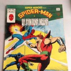 Cómics: SUPER HEROES VOL 2 Nº 123 SPIDERMAN Y LA PANTERA NEGRA ( VERTICE ). Lote 19702302