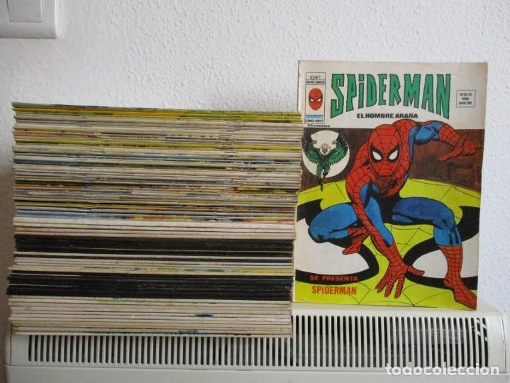 SPIDERMAN VERTICE VOLUMEN 3 ¡¡¡¡ MUY BUEN ESTADO !!!! COLECCION COMPLETA (Tebeos y Comics - Vértice - V.1)