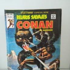Cómics: CONAN EL CUBIL DEL GUSANO DE HIELO Nº 74 RELATOS SALVAJES V.1. Lote 172375847