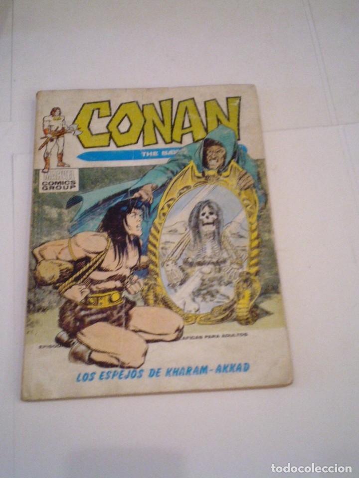 CONAN EL BARBARO - VERTICE - VOLUMEN 1 - NUMERO 13 - CJ 108 - GORBAUD (Tebeos y Comics - Vértice - Conan)