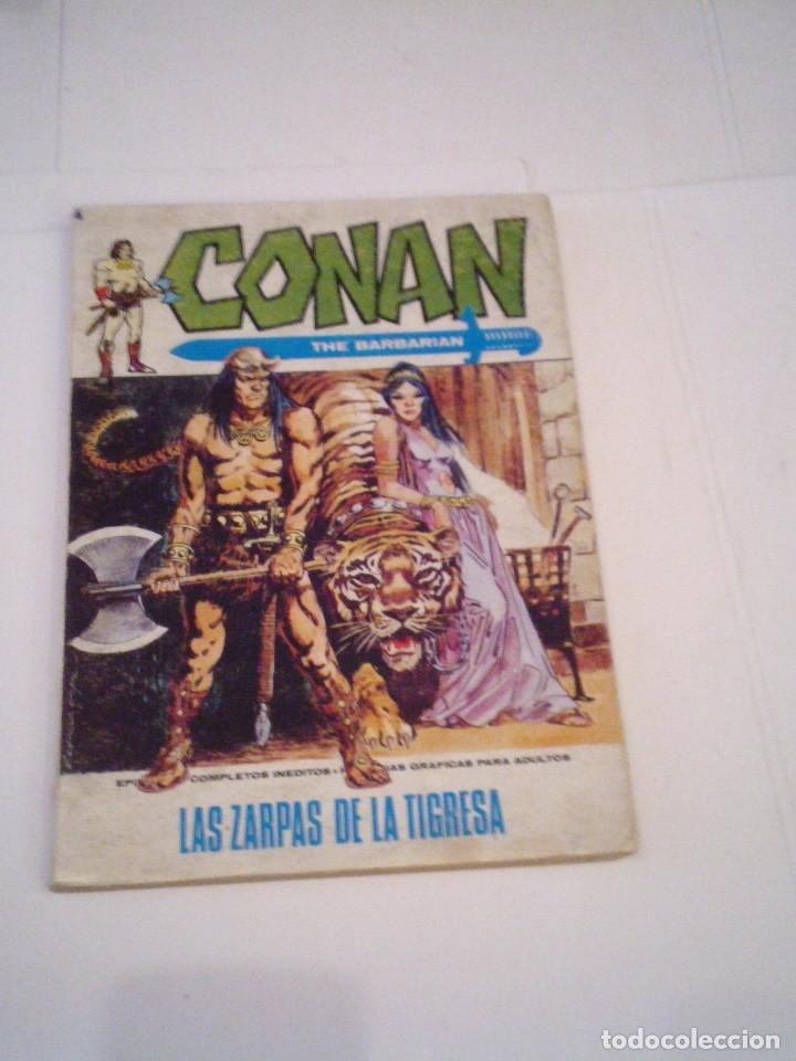 CONAN EL BARBARO - VERTICE - VOLUMEN 1 - NUMERO 3 - BUEN ESTADO - CJ 108 - GORBAUD (Tebeos y Comics - Vértice - Conan)