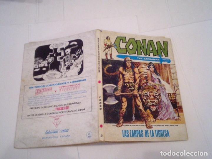 Cómics: CONAN EL BARBARO - VERTICE - VOLUMEN 1 - NUMERO 3 - BUEN ESTADO - CJ 108 - GORBAUD - Foto 5 - 172379933
