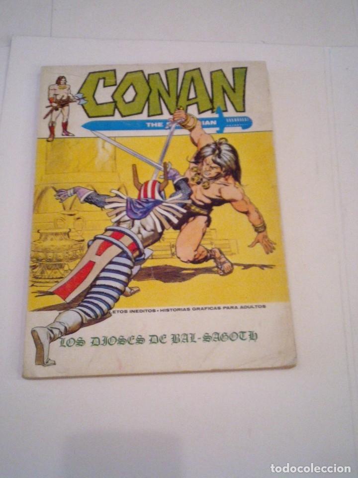 CONAN EL BARBARO - VERTICE - VOLUMEN 1 - NUMERO 9 - BUEN ESTADO - CJ 108 - GORBAUD (Tebeos y Comics - Vértice - Conan)