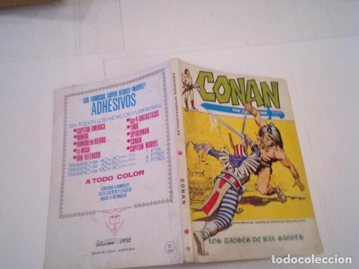 Cómics: CONAN EL BARBARO - VERTICE - VOLUMEN 1 - NUMERO 9 - BUEN ESTADO - CJ 108 - GORBAUD - Foto 5 - 172379952
