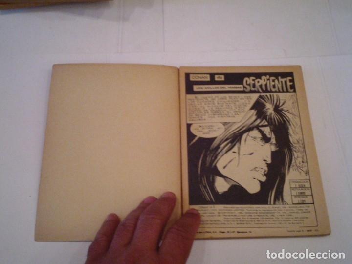 Cómics: CONAN EL BARBARO - VERTICE - VOLUMEN 1 - NUMERO 9 - BUEN ESTADO - CJ 108 - GORBAUD - Foto 2 - 172379973