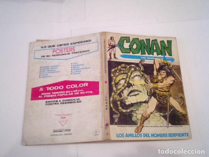 Cómics: CONAN EL BARBARO - VERTICE - VOLUMEN 1 - NUMERO 9 - BUEN ESTADO - CJ 108 - GORBAUD - Foto 5 - 172379973