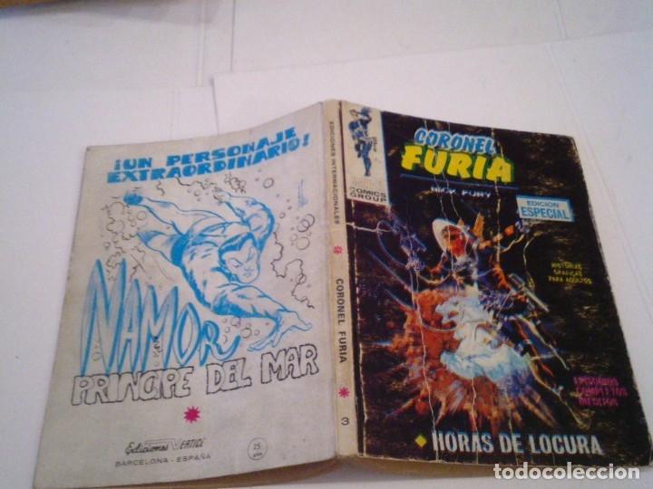 Cómics: CORONEL FURIA - VERTICE - VOLUMEN 1 - NUMERO 3 - CJ 108 - GORBAUD - Foto 6 - 172380505