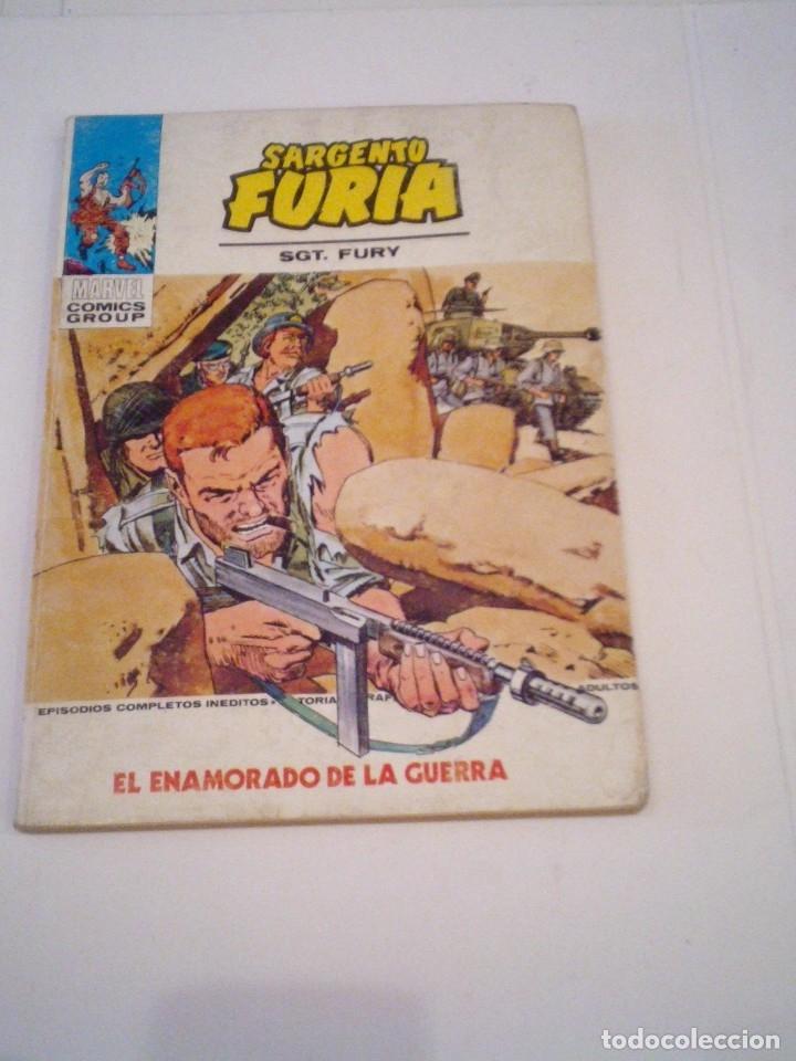 SARGENTO FURIA - VERTICE - VOLUMEN 1 - NUMERO 23 - BUEN ESTADO - CJ 108 - GORBAUD (Tebeos y Comics - Vértice - Furia)