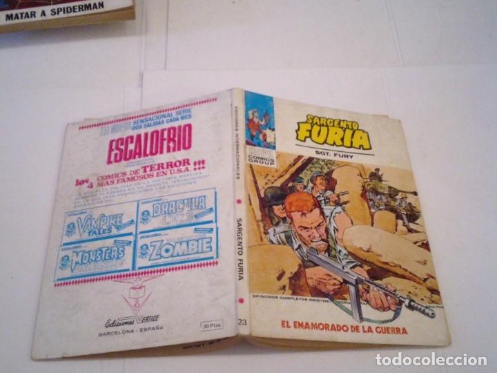 Cómics: SARGENTO FURIA - VERTICE - VOLUMEN 1 - NUMERO 23 - BUEN ESTADO - CJ 108 - GORBAUD - Foto 5 - 172380534