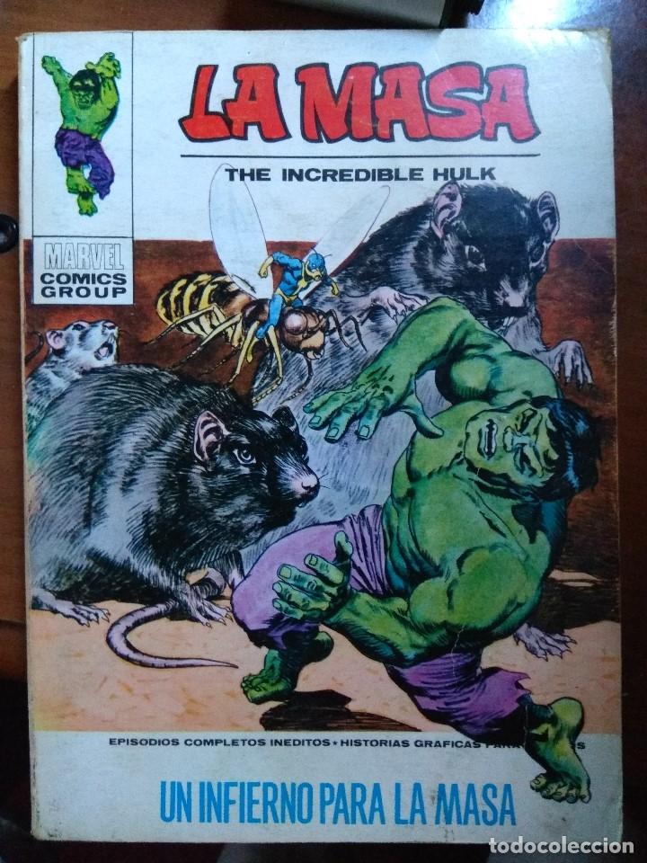 LA MASA Nº 26- VÉRTICE TACO (Tebeos y Comics - Vértice - La Masa)