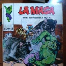 Cómics: LA MASA Nº 26- VÉRTICE TACO. Lote 172382004