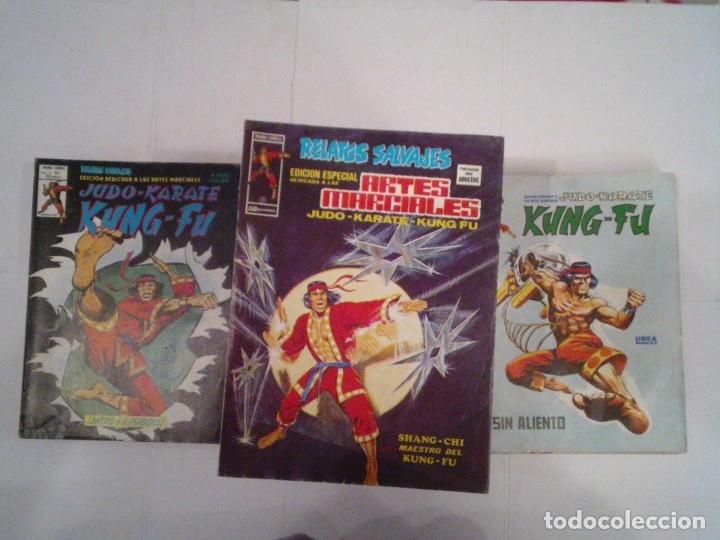 RELATOS SALVAJES - ARTES MARCIALES - VERTICE - VOLUMEN 1 +VOL 2 + SURCO - COMPLETAS - BUEN ESTADO (Tebeos y Comics - Vértice - Relatos Salvajes)
