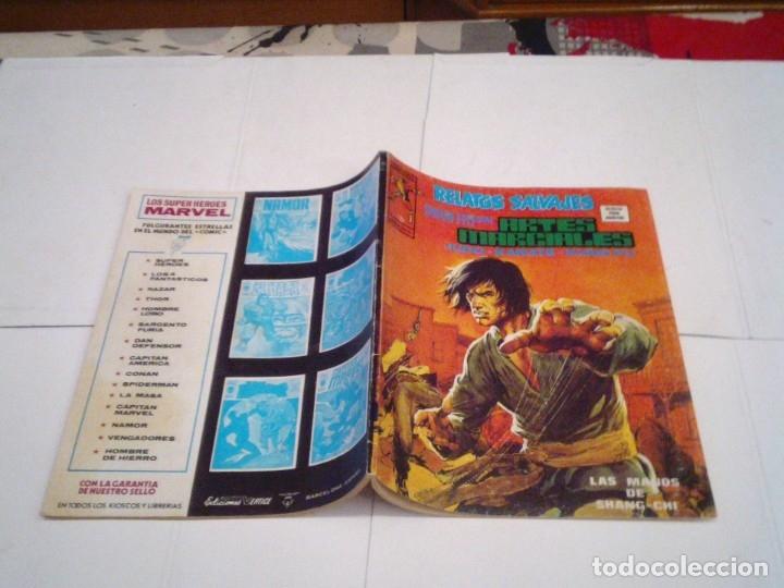 Cómics: RELATOS SALVAJES - ARTES MARCIALES - VERTICE - VOLUMEN 1 +VOL 2 + SURCO - COMPLETAS - BUEN ESTADO - Foto 9 - 172421980