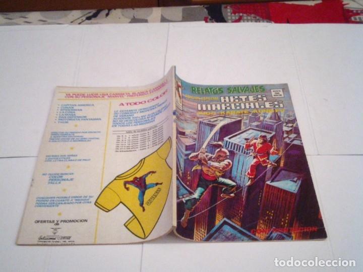 Cómics: RELATOS SALVAJES - ARTES MARCIALES - VERTICE - VOLUMEN 1 +VOL 2 + SURCO - COMPLETAS - BUEN ESTADO - Foto 12 - 172421980