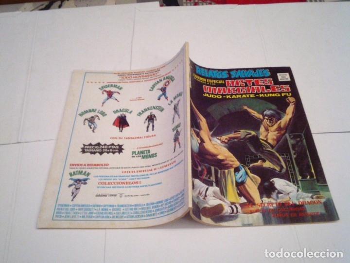 Cómics: RELATOS SALVAJES - ARTES MARCIALES - VERTICE - VOLUMEN 1 +VOL 2 + SURCO - COMPLETAS - BUEN ESTADO - Foto 21 - 172421980