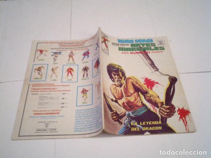 Cómics: RELATOS SALVAJES - ARTES MARCIALES - VERTICE - VOLUMEN 1 +VOL 2 + SURCO - COMPLETAS - BUEN ESTADO - Foto 31 - 172421980