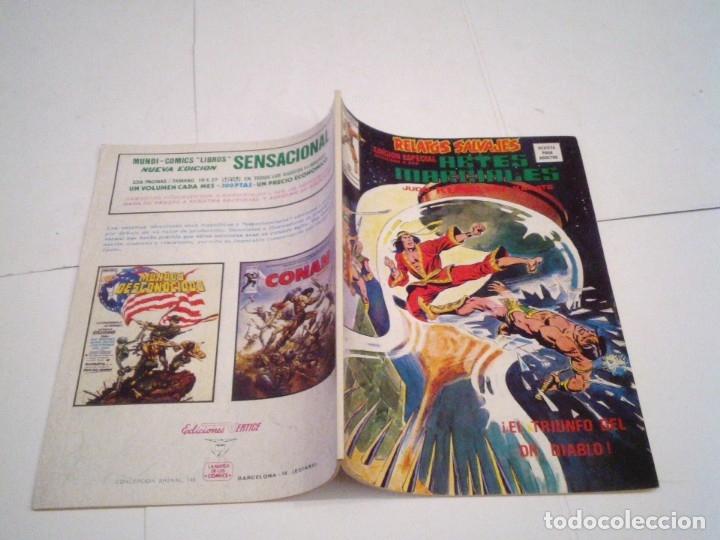 Cómics: RELATOS SALVAJES - ARTES MARCIALES - VERTICE - VOLUMEN 1 +VOL 2 + SURCO - COMPLETAS - BUEN ESTADO - Foto 39 - 172421980