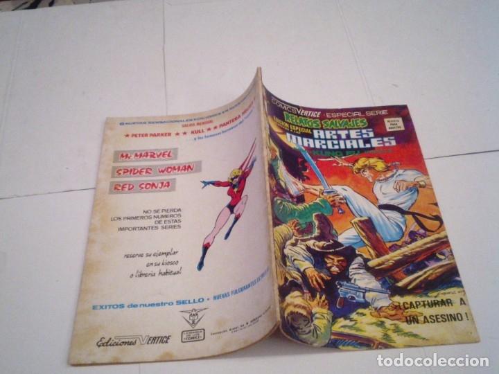 Cómics: RELATOS SALVAJES - ARTES MARCIALES - VERTICE - VOLUMEN 1 +VOL 2 + SURCO - COMPLETAS - BUEN ESTADO - Foto 49 - 172421980