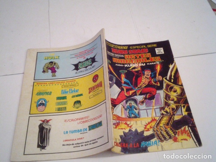 Cómics: RELATOS SALVAJES - ARTES MARCIALES - VERTICE - VOLUMEN 1 +VOL 2 + SURCO - COMPLETAS - BUEN ESTADO - Foto 59 - 172421980