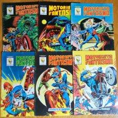 Cómics: MOTORISTA FANTASMA (MUNDICOMICS) 1 AL 6. Lote 172444854
