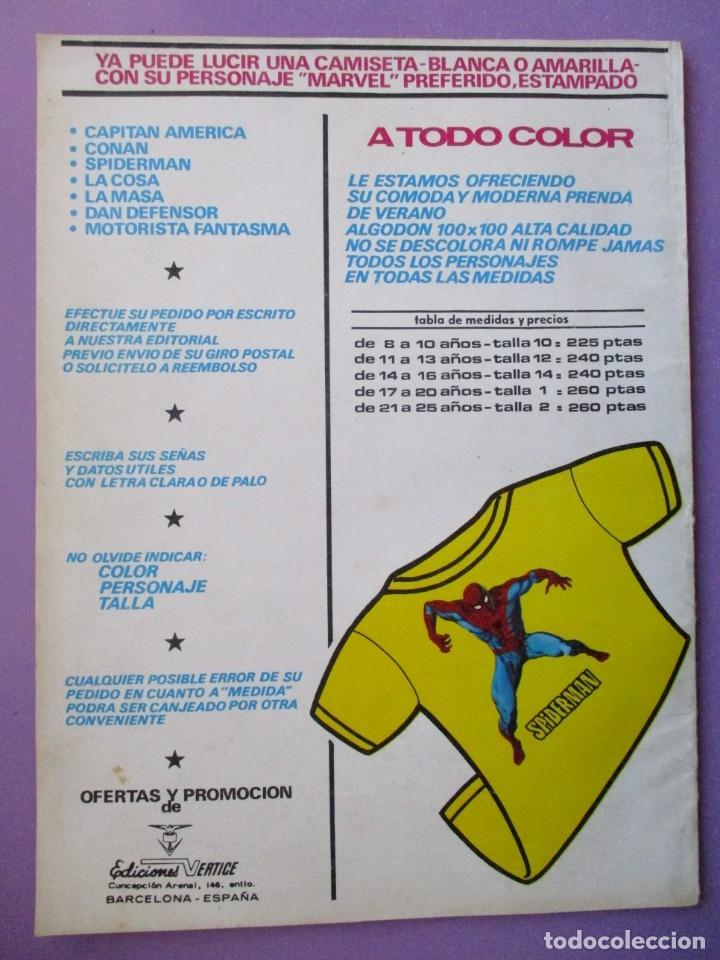 Cómics: FANTOM Nº 15 VERTICE VOL. 2 ¡¡¡ BUEN ESTADO Y MUY DIFICIL !!!! - Foto 2 - 172587149