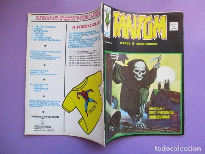 Cómics: FANTOM Nº 15 VERTICE VOL. 2 ¡¡¡ BUEN ESTADO Y MUY DIFICIL !!!! - Foto 3 - 172587149