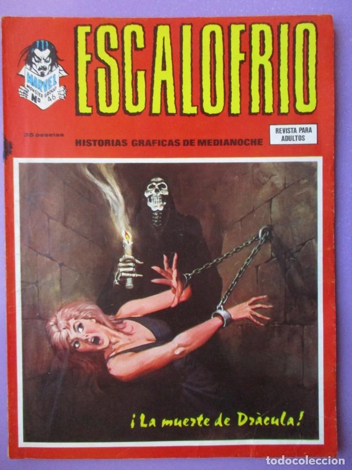 ESCALOFRIO Nº 46 VERTICE ¡¡¡ BUEN ESTADO Y DIFICIL !!!! (Tebeos y Comics - Vértice - V.1)