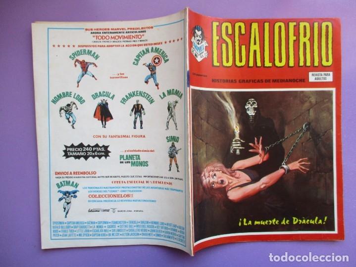 Cómics: ESCALOFRIO Nº 46 VERTICE ¡¡¡ BUEN ESTADO Y DIFICIL !!!! - Foto 3 - 172587245
