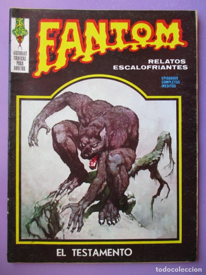 FANTOM Nº 28 VERTICE VOL. 1 ¡¡¡ BUEN ESTADO !!!! (Tebeos y Comics - Vértice - V.1)