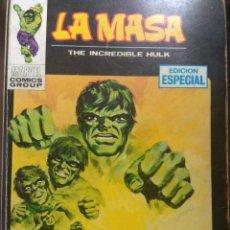 Comics : LA MASA Nº 5 - VÉRTICE TACO - 126 PAGS. FALTA GALERIA MARVEL. Lote 172595490
