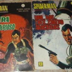 Cómics: SPIDERMAN Nº 1 CONTRA EL DR. MISTERIOSO SPIDERMAN Nº 2 UNO DOS TRES CUATRO ARACNIDOS 7 PTAS VERTICE. Lote 172617627