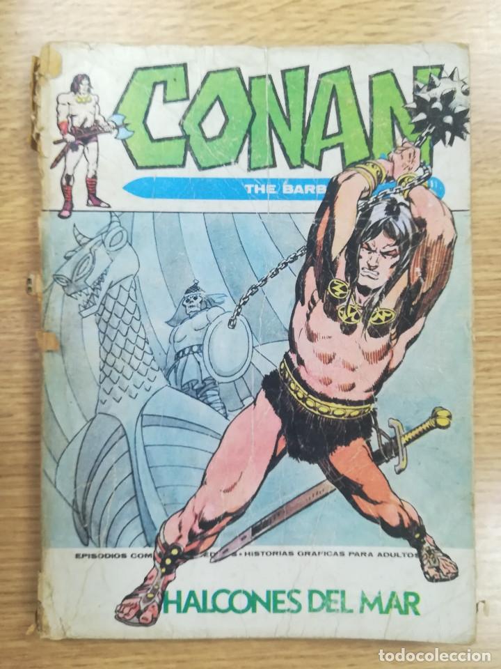 CONAN #10 HALCONES DEL MAR (Tebeos y Comics - Vértice - Conan)
