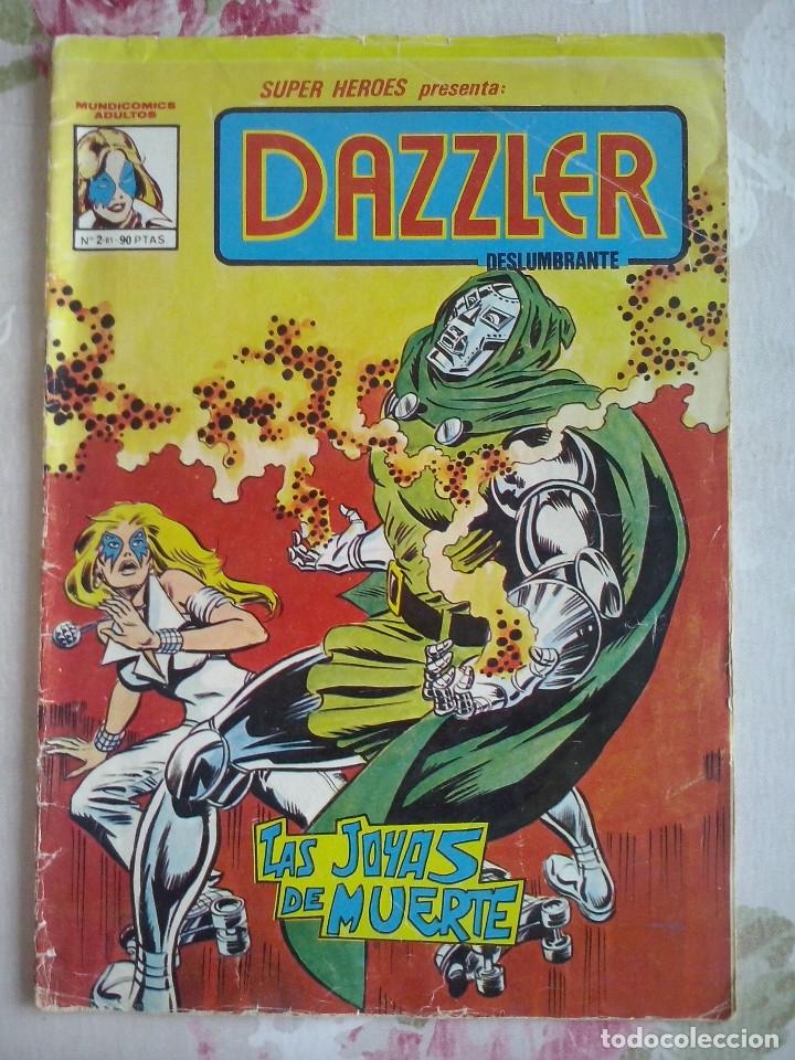 VERTICE MUNDI-COMICS : SUPER HEROES NUM.2 DAZZLER (Tebeos y Comics - Vértice - Surco / Mundi-Comic)
