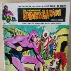 Comics: EL HOMBRE ENMASCARADO - Nº 26, EL CABALLO VOLADOR, LAS RATAS DEL PANTANO - ED. VÉRTICE. Lote 172830107