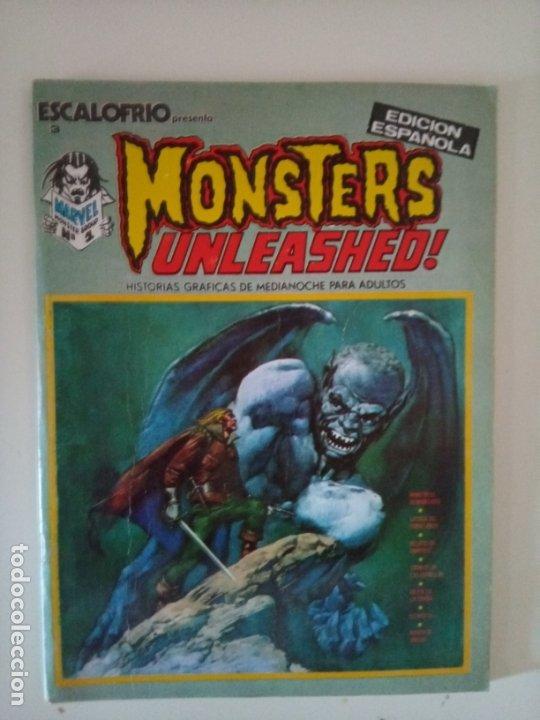ESCALOFRÍO: MONSTERS UNLEASHED Nº 1 (1973) (Tebeos y Comics - Vértice - Otros)