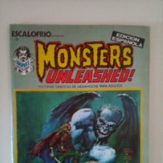 Cómics: ESCALOFRÍO: MONSTERS UNLEASHED Nº 1 (1973). Lote 172830405