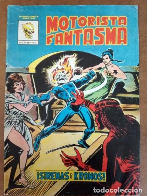MOTORISTA FANTASMA Nº 3 MUNDICOMICS - VERTICE (Tebeos y Comics - Vértice - Surco / Mundi-Comic)
