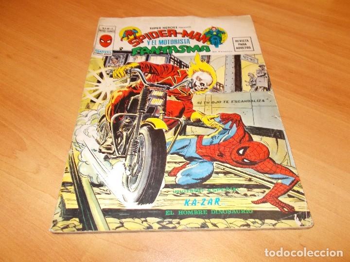 EL MOTORISTA FANTASMA. GRAN LOTE DE 26 NÚMEROS !! (Tebeos y Comics - Vértice - Super Héroes)