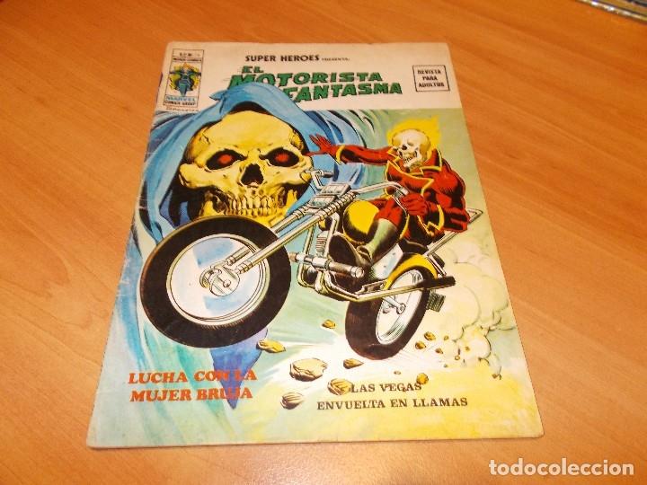 Cómics: EL MOTORISTA FANTASMA. GRAN LOTE DE 26 NÚMEROS !! - Foto 5 - 172954704