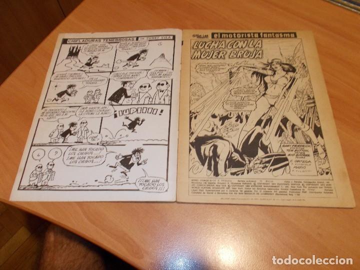 Cómics: EL MOTORISTA FANTASMA. GRAN LOTE DE 26 NÚMEROS !! - Foto 7 - 172954704