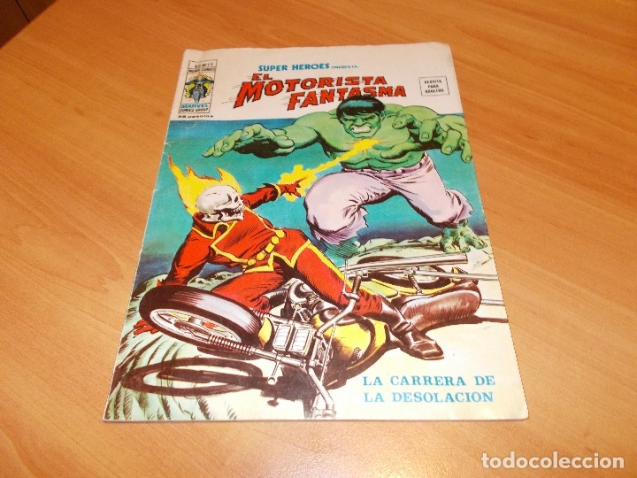 Cómics: EL MOTORISTA FANTASMA. GRAN LOTE DE 26 NÚMEROS !! - Foto 17 - 172954704