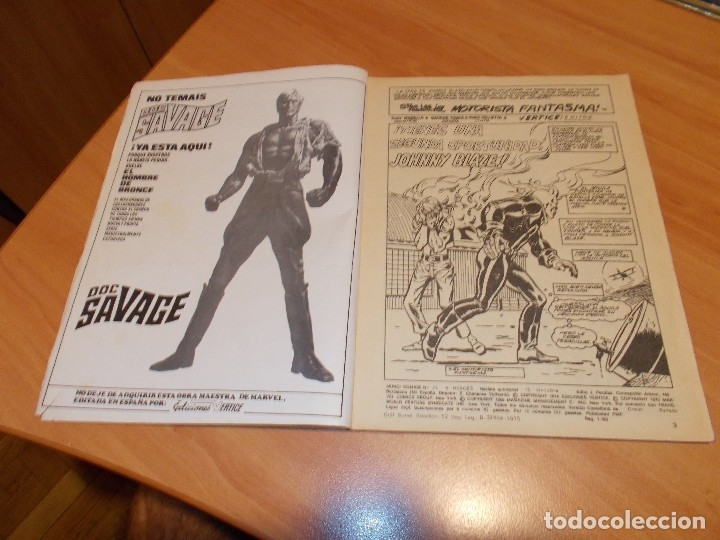Cómics: EL MOTORISTA FANTASMA. GRAN LOTE DE 26 NÚMEROS !! - Foto 23 - 172954704