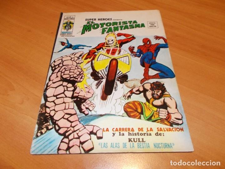 Cómics: EL MOTORISTA FANTASMA. GRAN LOTE DE 26 NÚMEROS !! - Foto 37 - 172954704