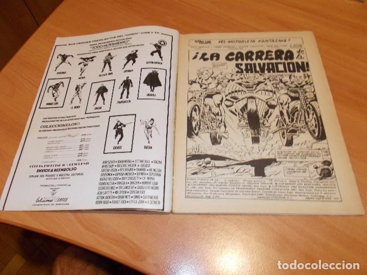 Cómics: EL MOTORISTA FANTASMA. GRAN LOTE DE 26 NÚMEROS !! - Foto 39 - 172954704