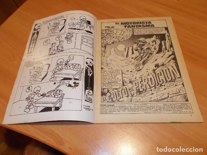 Cómics: EL MOTORISTA FANTASMA. GRAN LOTE DE 26 NÚMEROS !! - Foto 79 - 172954704