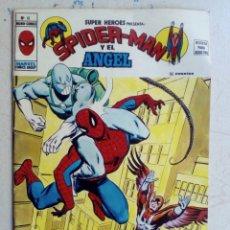 Cómics: SUPER HÉROES. SPIDERMAN Y EL ÁNGEL, NÚM 10. VÉRTICE.. Lote 173001460