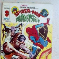 Cómics: SUPER HÉROES. SPUDERMAN Y FRANKENSTEIN, NÚM 11. Lote 173002219