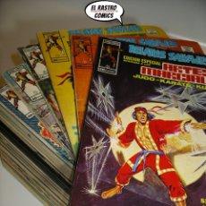 Cómics: RELATOS SALVAJES, ARTES MARCIALES, COLECCIÓN COMPLETA, ED. VERTICE AÑO 1973, JUDO KARATE KUNG FU -3V. Lote 173079745